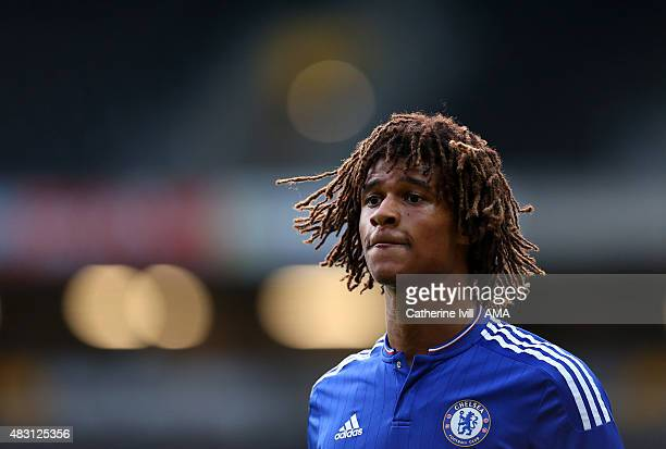 Nathan Ake of Chelsea during the preseason friendly between MK Dons and a Chelsea XI at Stadium mk on August 3 2015 in Milton Keynes England