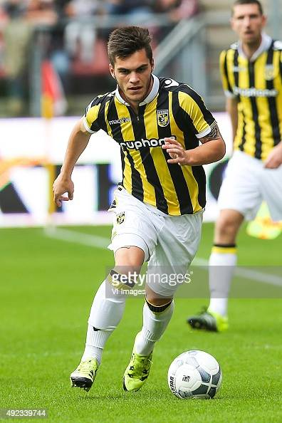 Nathan Allan de Souza of Vitesse during the Dutch Eredivisie match between FC Utrecht and Vitesse Arnhem at the Galgenwaard Stadium on September 13...