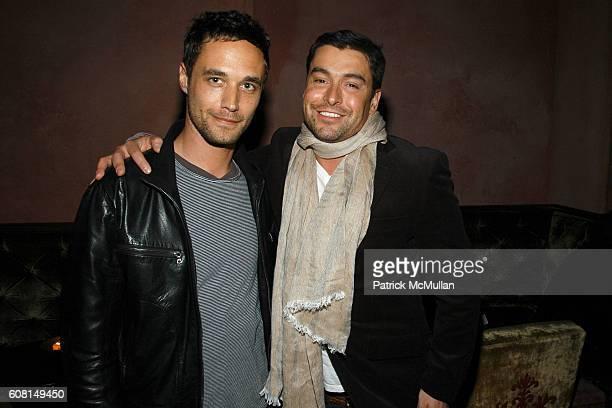 Nathan Bogle and Alex Badia attend CALVIN KLEIN INC Wilhelmina Models Surprise Party for GABRIEL AUBRY at Rose Bar @ The Gramercy Park Hotel on April...