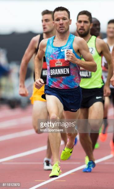 Nathan Brannen in the 1500m semifinals at the Canadian Track and Field Championships on 8 July 2017 at the Terry Fox Athletic Facility in Ottawa...
