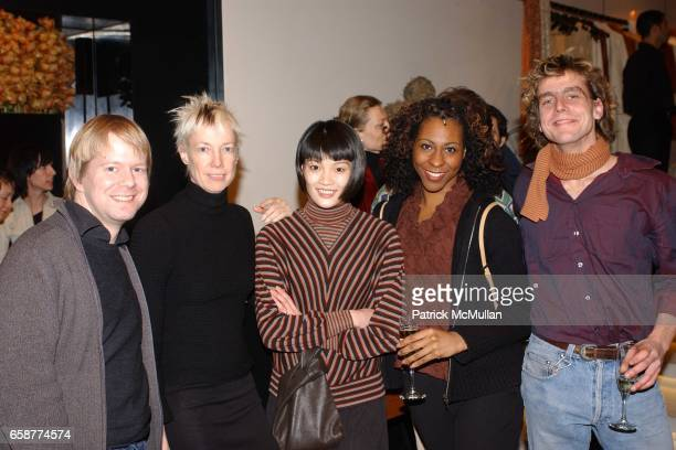Nathan Buck Karole Armitage Megumi Eda Theresa Howard and Polack Oliver attends 'Great Art/Great Artists for a Great Cause' benefit for the Armitage...