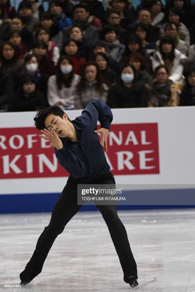 Нэтан Чен / Nathan CHEN USA - Страница 5 Nathan-chen-of-the-us-competes-during-the-mens-free-skating-event-of-picture-id888251664