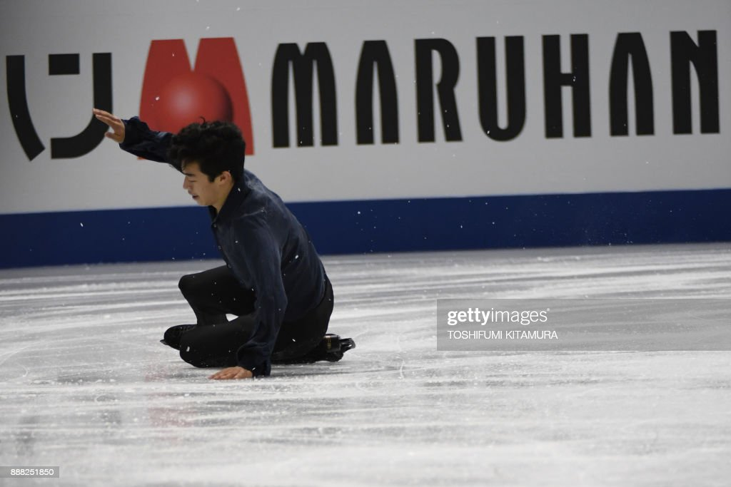 Нэтан Чен / Nathan CHEN USA - Страница 5 Nathan-chen-of-the-us-competes-during-the-mens-free-skating-event-of-picture-id888251850