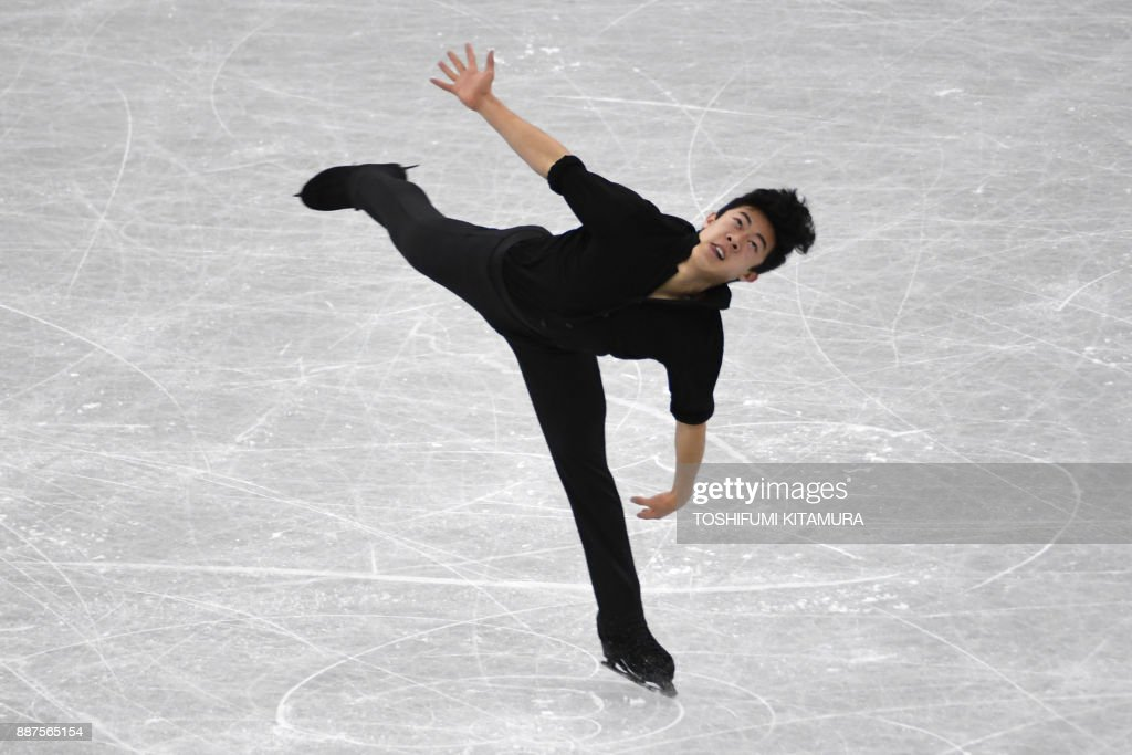 Нэтан Чен / Nathan CHEN USA - Страница 5 Nathan-chen-of-the-us-competes-during-the-mens-short-programme-of-the-picture-id887565154
