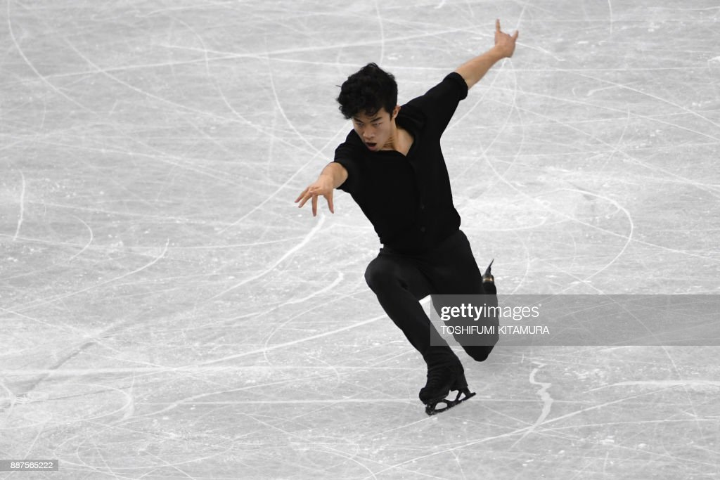 Нэтан Чен / Nathan CHEN USA - Страница 5 Nathan-chen-of-the-us-competes-during-the-mens-short-programme-of-the-picture-id887565222