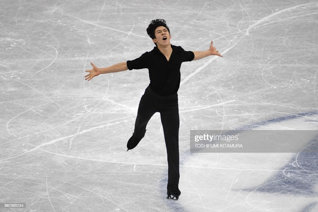 Нэтан Чен / Nathan CHEN USA - Страница 5 Nathan-chen-of-the-us-competes-during-the-mens-short-programme-of-the-picture-id887565234