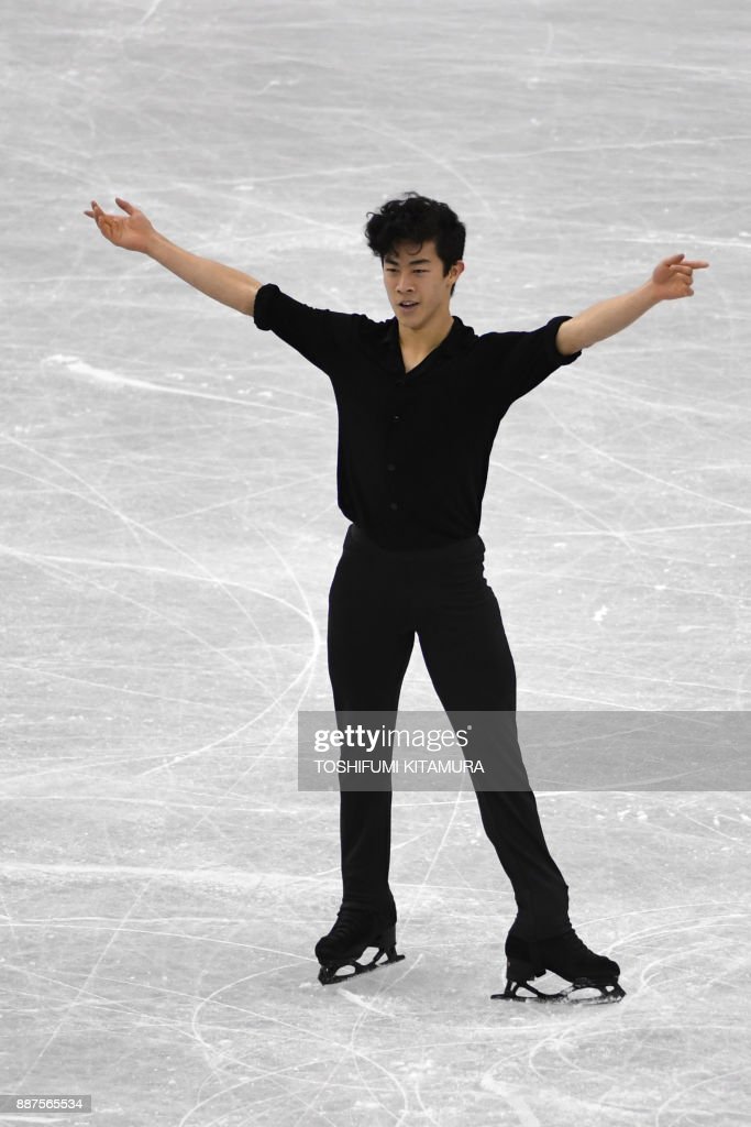 Нэтан Чен / Nathan CHEN USA - Страница 5 Nathan-chen-of-the-us-competes-during-the-mens-short-programme-of-the-picture-id887565534