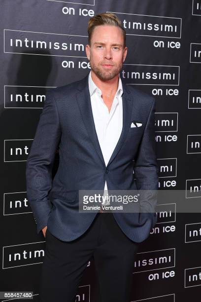 Nathan Clark attends Intimissimi On ice 2017 on October 6 2017 in Verona Italy