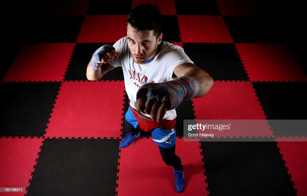 <a gi-track='captionPersonalityLinkClicked' href=/galleries/search?phrase=Nathan+Cleverly&family=editorial&specificpeople=5152922 ng-click='$event.stopPropagation()'>Nathan Cleverly</a> during a media work out at Fitness Planet on February 26, 2013 in Aberbargoed, Wales.