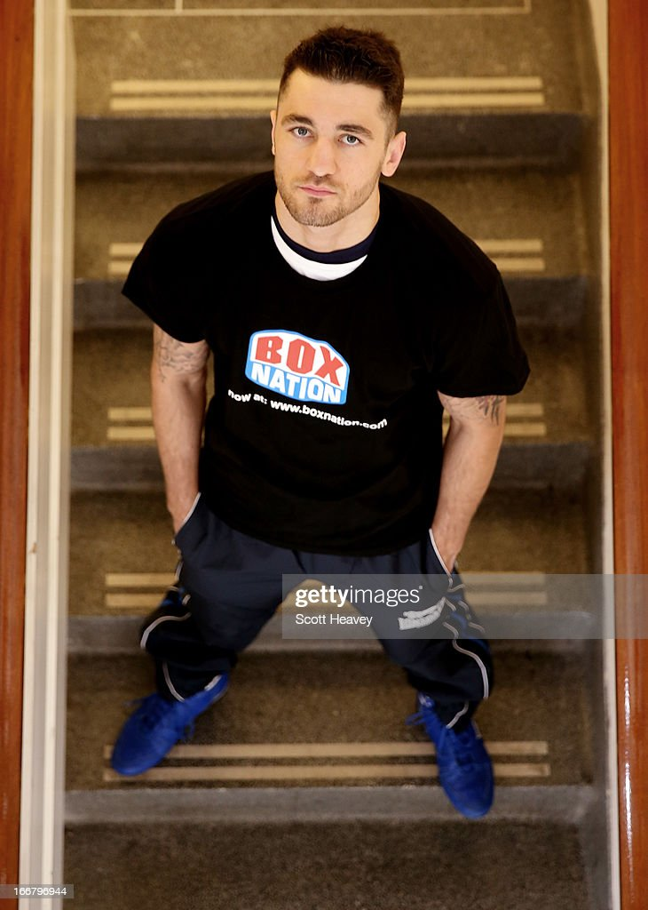 <a gi-track='captionPersonalityLinkClicked' href=/galleries/search?phrase=Nathan+Cleverly&family=editorial&specificpeople=5152922 ng-click='$event.stopPropagation()'>Nathan Cleverly</a> poses during a media workout at the Stonebridge ABC Boxing Gym on April 17, 2013 in London, England.