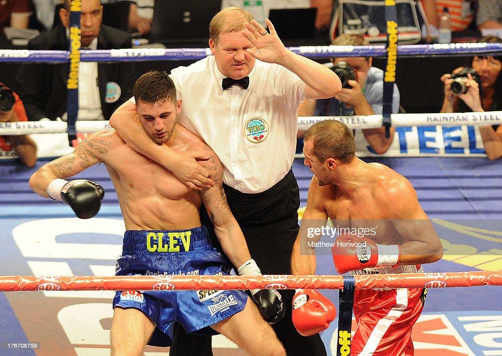 Nathan Cleverly v Sergey Kovalev WBO World Light-Heavyweight Title Championship Fight
