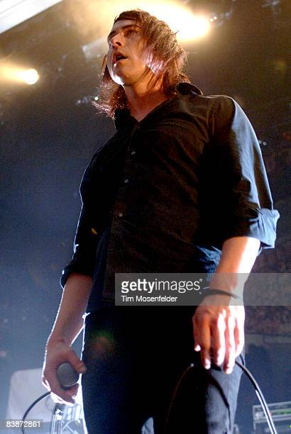 Nathan Ells of The Human Abstact performs in support of the bands' Midheaven release at the Grand Ballroom on November 30 2008 in San Francisco...