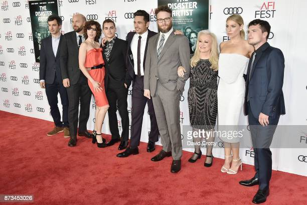 Nathan Fielder Paul Scheer Alison Brie Dave Franco James Franco Seth Rogen Jacki Weaver Ari Graynor and Josh Hutcherson attend the AFI FEST 2017...