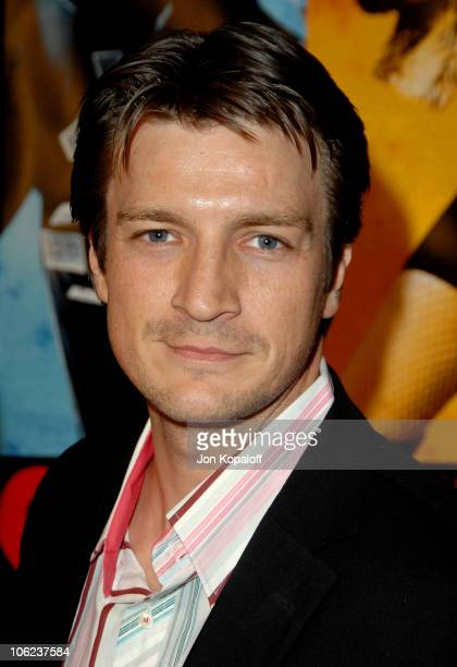 Nathan Fillion during 'Smokin' Aces' Los Angeles Premiere Arrivals at Grauman's Chinese Theater in Hollywood California United States