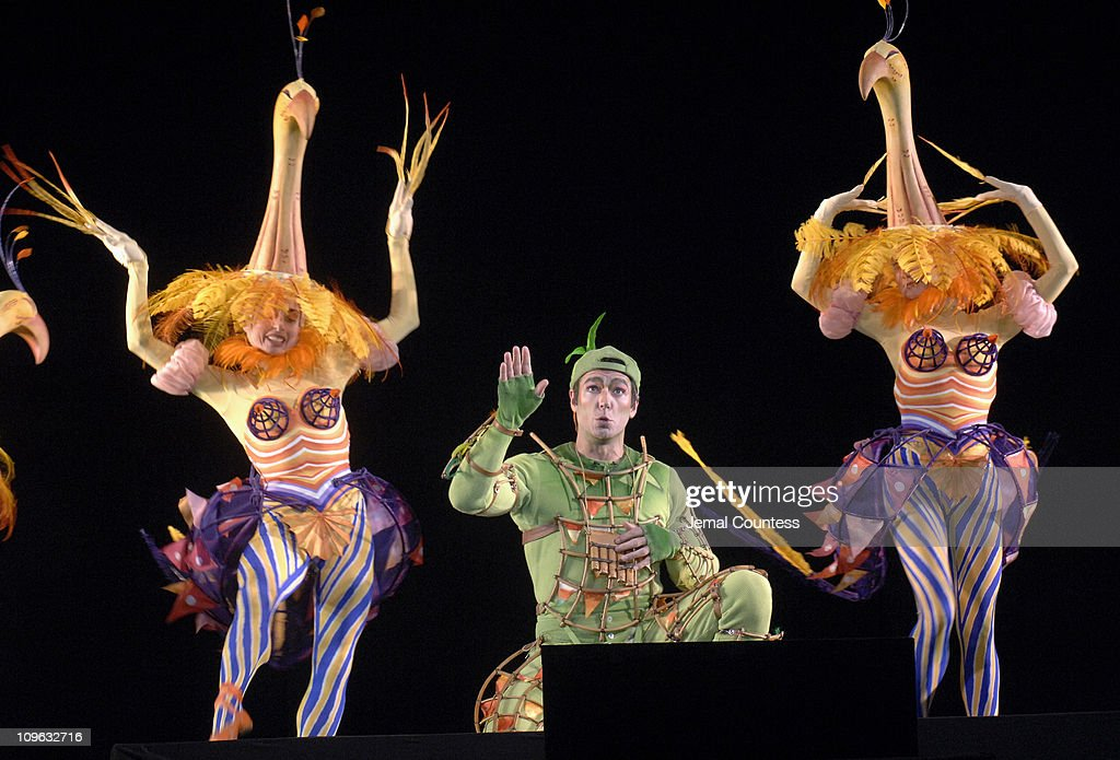 Nathan Gunn with performers from the Met's production of 'The Magic Flute'