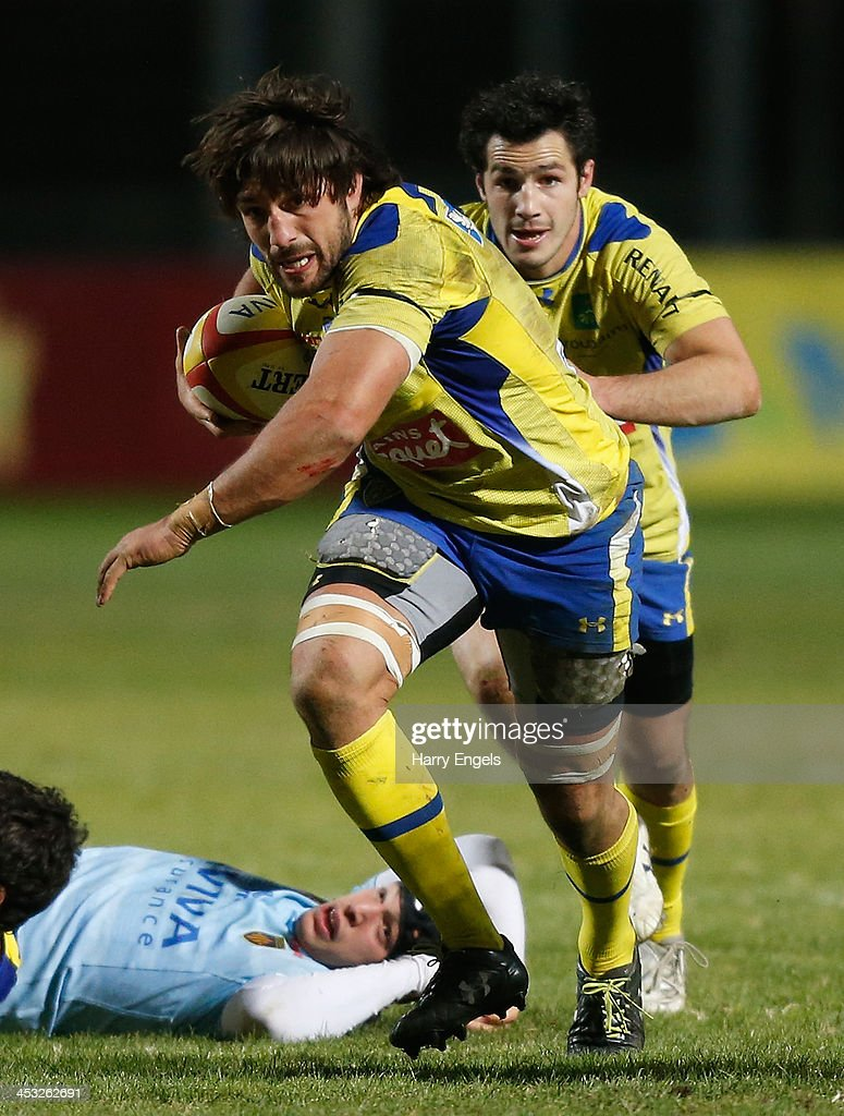 perpignan v asm clermont auvergne top photos and images nathan hines of asm clermont auvergne in action during the top 14 match between perpignan and