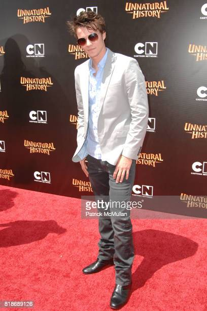 Nathan Keyes attends Cartoon Network Hosts RedCarpet World Premiere of 'Unnatural History' at Steven J Ross Theater on June 12 2010 in Warner Bros...