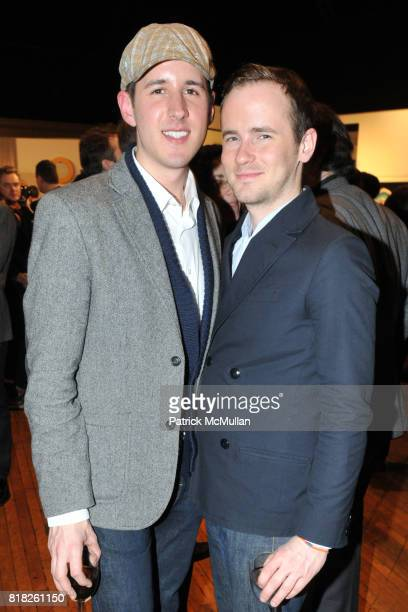 Nathan Kovach and Bryan McKee attend 2010 BAILEY HOUSE Auction and Party at Roseland Ballroom on February 25 2010 in New York City