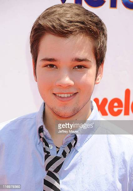 Nathan Kress attends Nickelodeon's 'iParty With Victorious' screening at The Lot on June 4 2011 in West Hollywood California