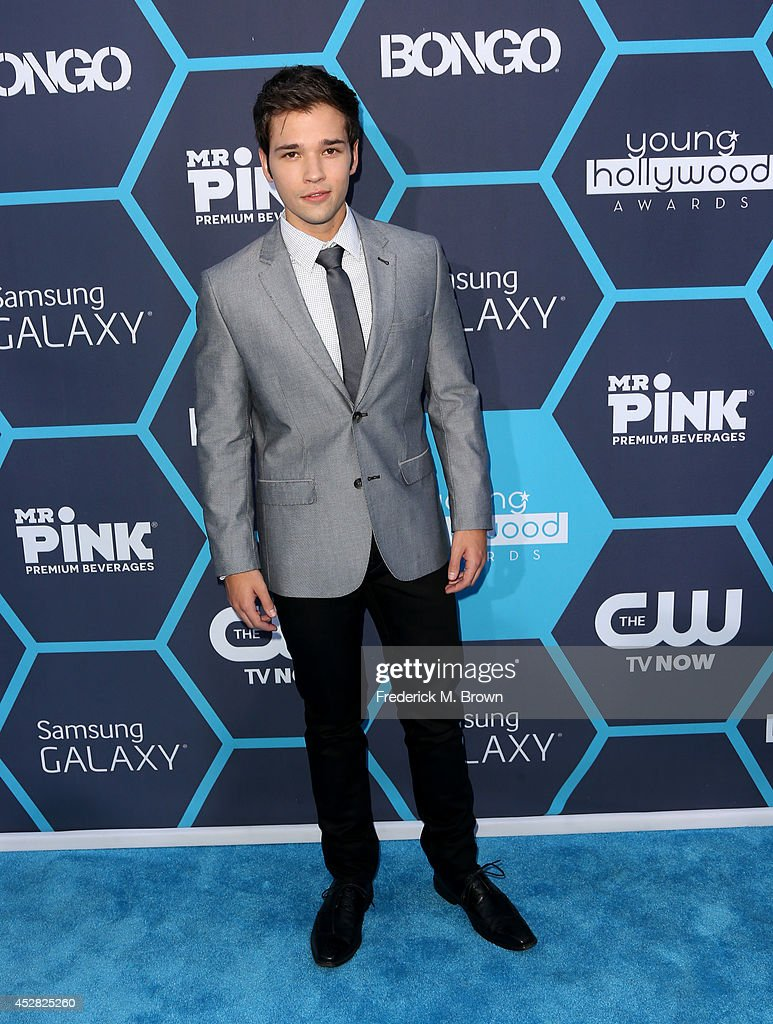 Nathan Kress attends the 2014 Young Hollywood Awards brought to you by Samsung Galaxy at The Wiltern on July 27, 2014 in Los Angeles, California.