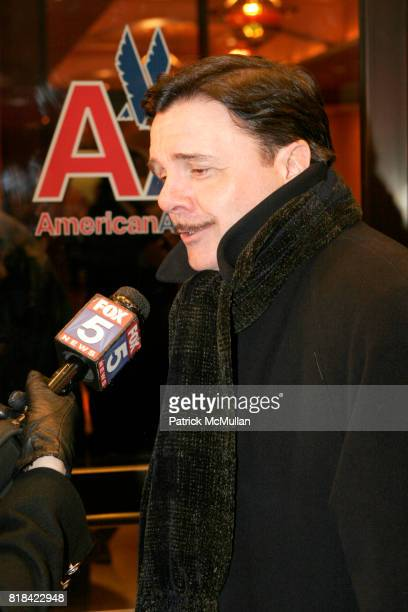 Nathan Lane attends Opening Night of Present Laughter at American Airlines Theater on January 21 2010 in New York City