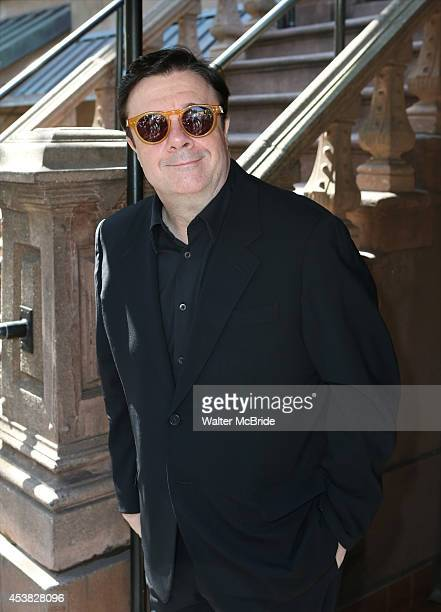 Nathan Lane attends the Breakfast at Joe Allen for the cast and creative team of 'It's Only a Play' at Joe Allen Restaurant on August 19 2014 in New...
