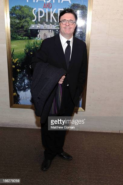 Nathan Lane attends the opening night of 'Vanya And Sonia And Masha And Spike' at Mitzi E Newhouse Theater on November 12 2012 in New York City
