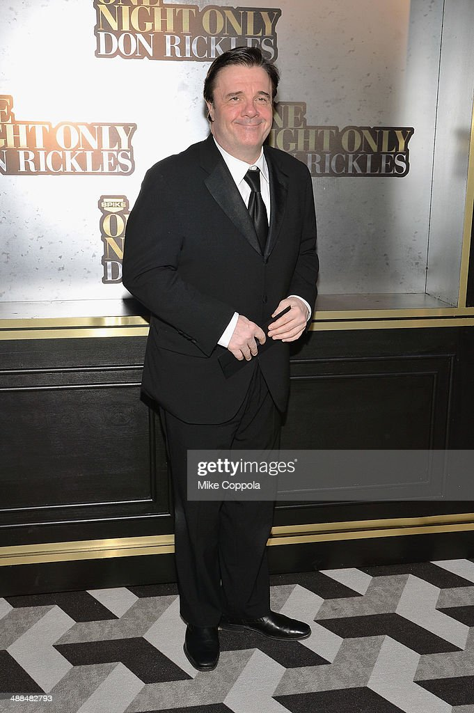 <a gi-track='captionPersonalityLinkClicked' href=/galleries/search?phrase=Nathan+Lane&family=editorial&specificpeople=209367 ng-click='$event.stopPropagation()'>Nathan Lane</a> attends the Spike TV's 'Don Rickles: One Night Only' on May 6, 2014 in New York City.