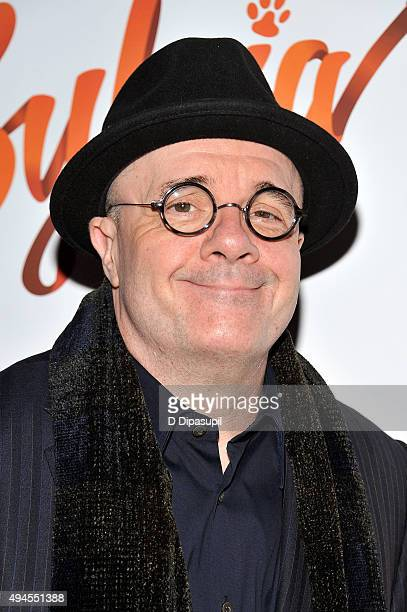 Nathan Lane attends the 'Sylvia' opening night at Cort Theatre on October 27 2015 in New York City