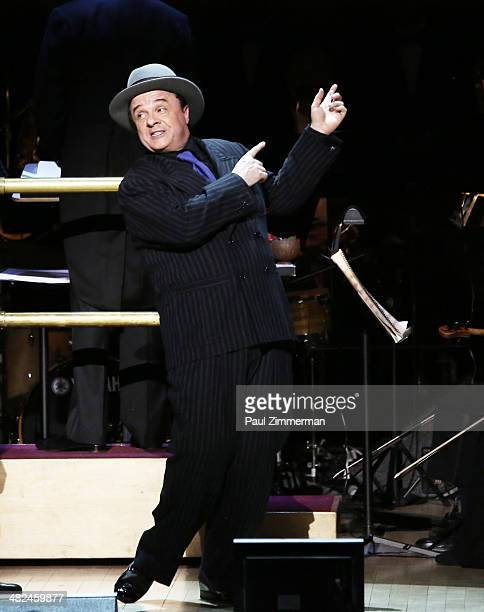 Nathan Lane performs 'Guys And Dolls' at Carnegie Hall on April 3 2014 in New York City