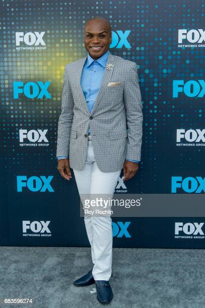 Nathan Lee Graham attends the 2017 FOX Upfront at Wollman Rink Central Park on May 15 2017 in New York City