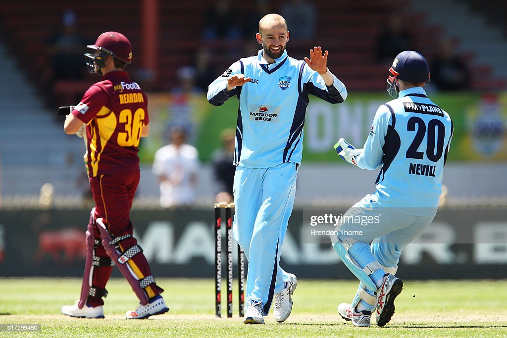 Matador BBQs One Day Cup - Final: QLD v NSW