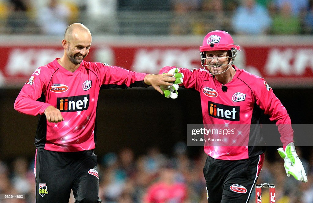 Big Bash League - Semi Final: Heat v Sixers : News Photo
