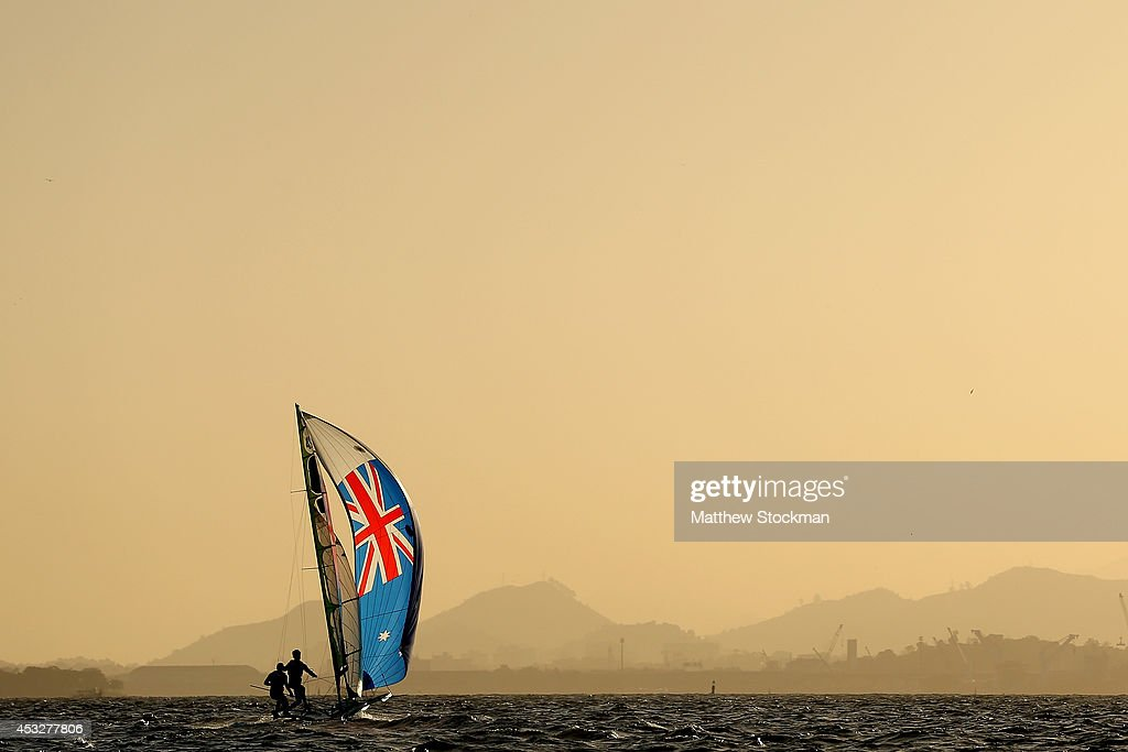 Aquece Rio International Sailing Regatta - Rio 2016 Olympics Sailing Test Event - Day 4