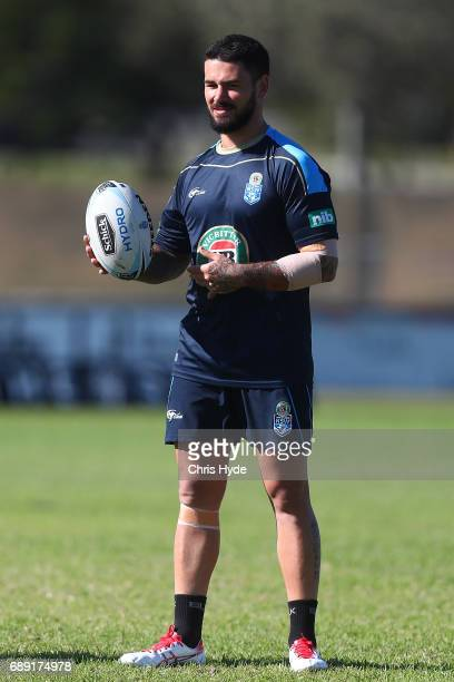 Nathan Peats during a New South Wales Blues Origin training session at Cudgen Leagues Club on May 28 2017 in Kingscliff Australia
