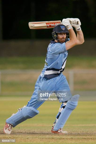 Nathan Price of New South Wales bats during the National Indigenous Cricket Championships Final between New South Wales and Victoria on February 13...