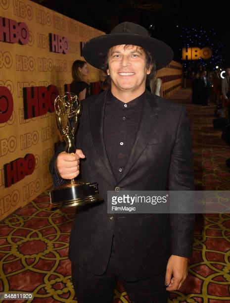 Nathan Ross attend HBO's Post Emmy Awards Reception at The Plaza at the Pacific Design Center on September 17 2017 in Los Angeles California