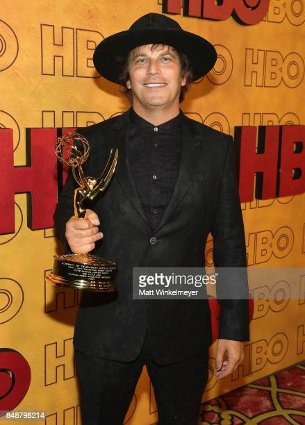 Nathan Ross attends HBO's Post Emmy Awards Reception at The Plaza at the Pacific Design Center on September 17 2017 in Los Angeles California