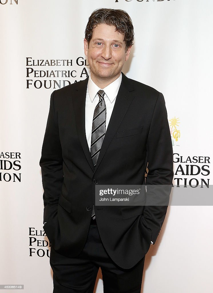 <a gi-track='captionPersonalityLinkClicked' href=/galleries/search?phrase=Nathan+Sawaya&family=editorial&specificpeople=6483794 ng-click='$event.stopPropagation()'>Nathan Sawaya</a> attends Elizabeth Glaser Pediatric AIDS Foundation's 25th Anniversary Gala at Best Buy Theater on December 3, 2013 in New York City.