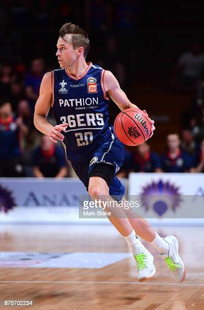 Nathan Sobey of Adelaide 36ers during the round seven NBL match between Adelaide 36ers and the Sydney Kings at Titanium Security Arena on November 18...