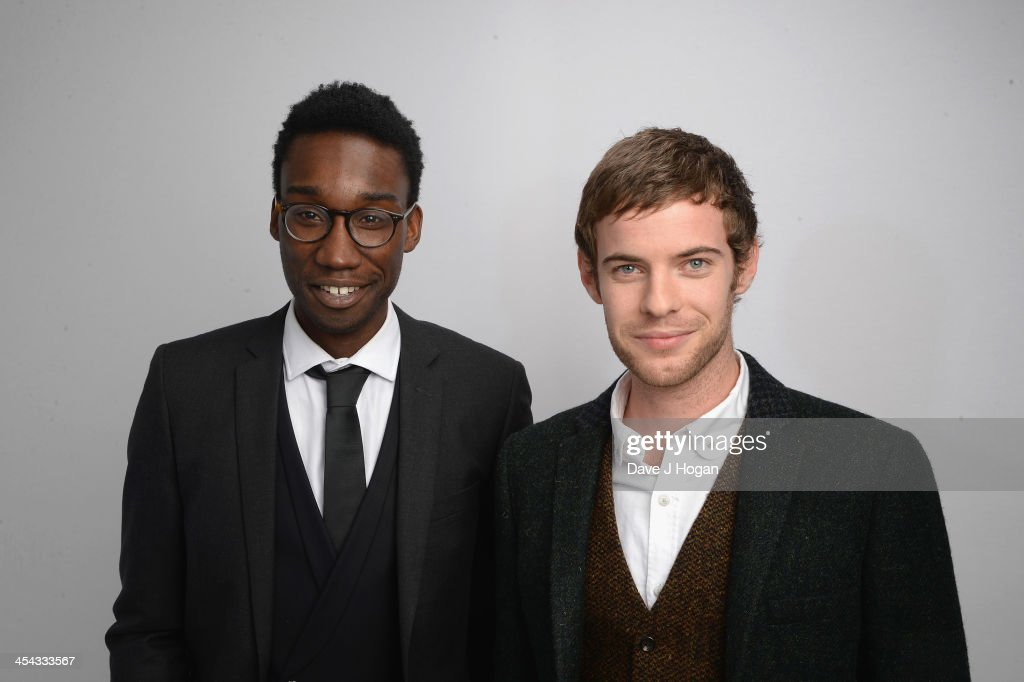 Nathan Stewart Jarrett and Harry Treadaway attends the Moet British Independent Film Awards 2013 at Old Billingsgate Market on December 8, 2013 in London, England.