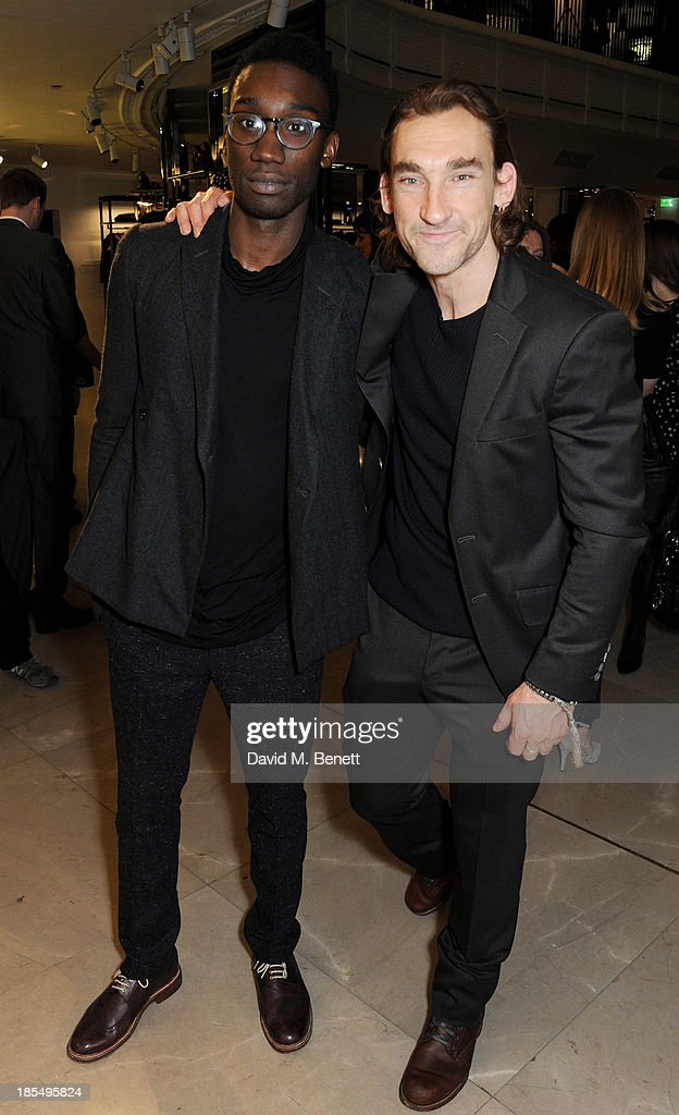<a gi-track='captionPersonalityLinkClicked' href=/galleries/search?phrase=Nathan+Stewart-Jarrett&family=editorial&specificpeople=5629208 ng-click='$event.stopPropagation()'>Nathan Stewart-Jarrett</a> (L) and Joseph Mawle attend the BAFTA 'Breakthrough Brits' event at Burberry 121 Regent Street, London on October 21, 2013 in London, United Kingdom.