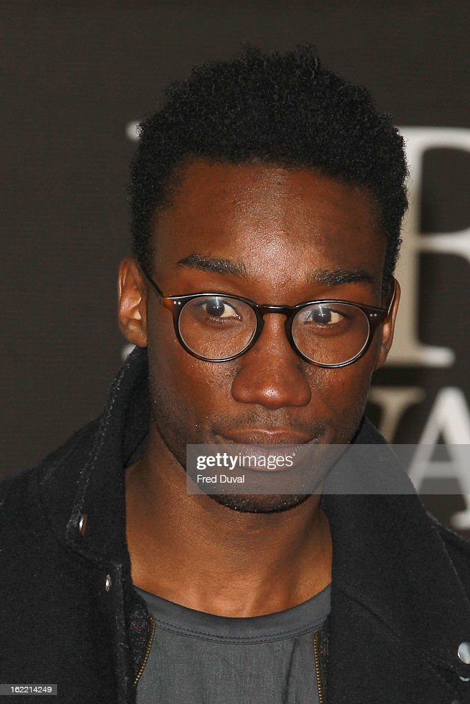 Nathan Stewart-Jarrett attends the Brit Awards at 02 Arena on February 20, 2013 in London, England.