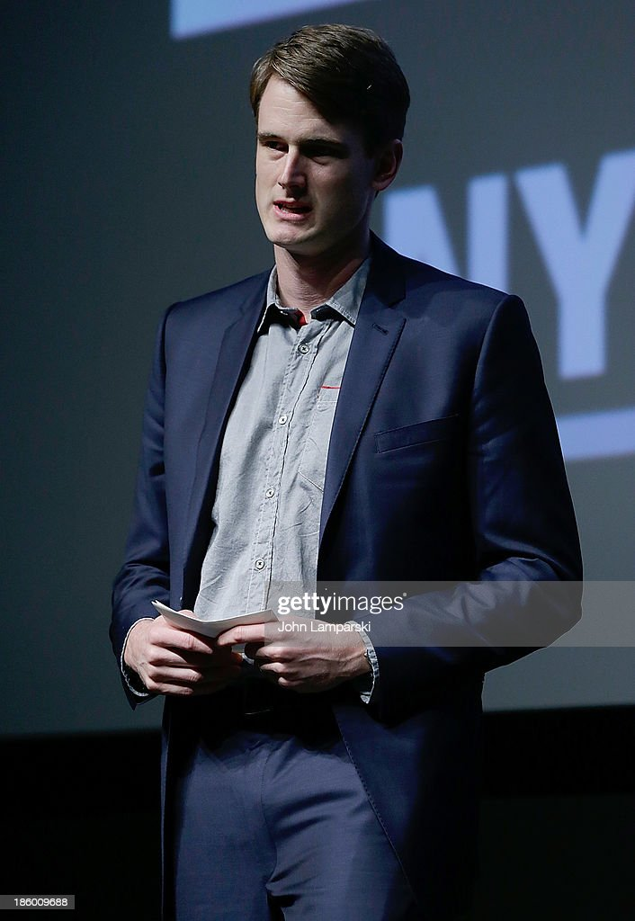 Nathan Stoll accepts A&E Unscripted Development Pipeline for hisproject 'Dirt Track Outlaws ' at the 9th Annual New York Television Festival - Awards Ceremony at SVA Theater on October 26, 2013 in New York City.