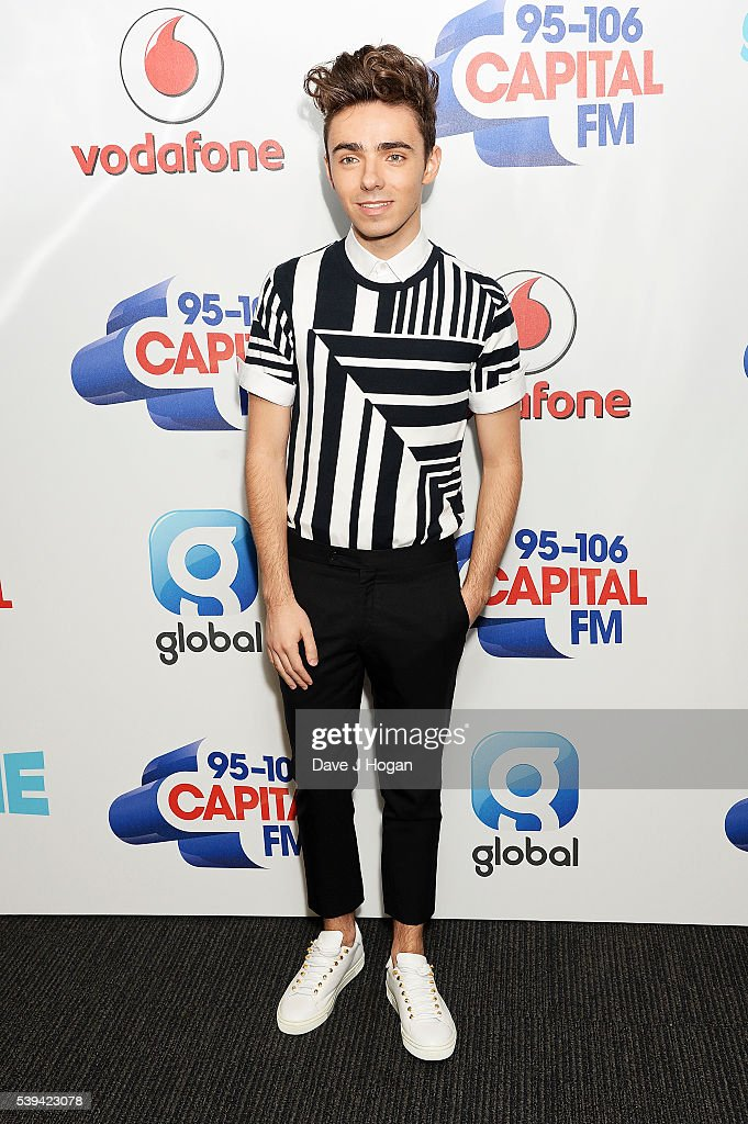 Nathan Sykes arrives for Capital's Summertime Ball at Wembley Stadium on June 11, 2016 in London, England.