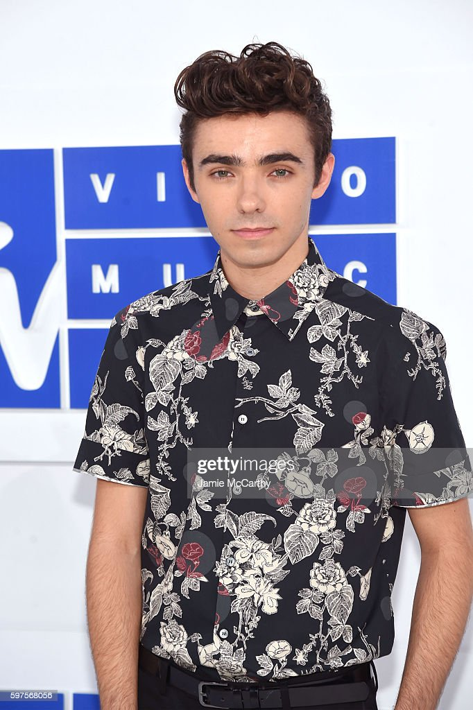 Nathan Sykes attends the 2016 MTV Video Music Awards at Madison Square Garden on August 28, 2016 in New York City.