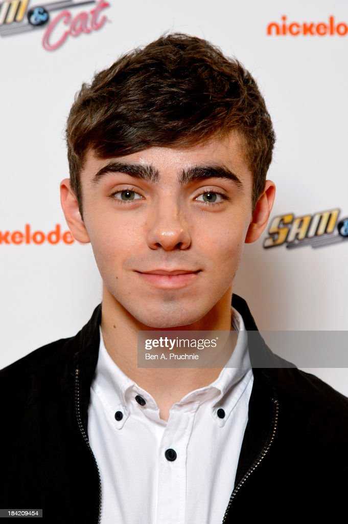 <a gi-track='captionPersonalityLinkClicked' href=/galleries/search?phrase=Nathan+Sykes&family=editorial&specificpeople=7039809 ng-click='$event.stopPropagation()'>Nathan Sykes</a> attends the UK Premiere of Sam & Cat at Cineworld 02 Arena on October 12, 2013 in London, England.