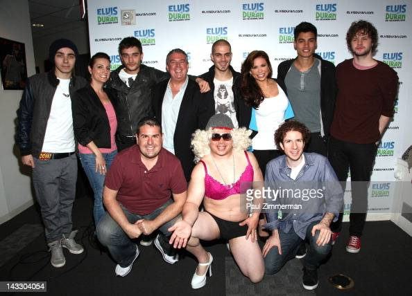 ... along with host Elvis Duran and the Z100 Morning Crew visit Elvis