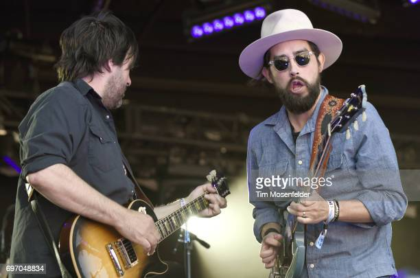 Nathan Verus Dale and Jackie Greene perform during the Monterey International Pop Festival 2017 at Monterey County Fairgrounds on June 17 2017 in...