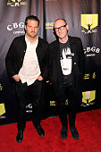 Nathan Willett and Matt Maust of Cold War Kids attend the Amnesty International Concert presented by the CBGB Festival at Barclays Center on February...